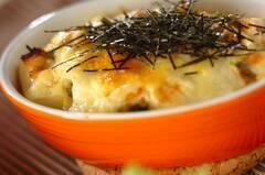 豆腐のツナみそグラタン