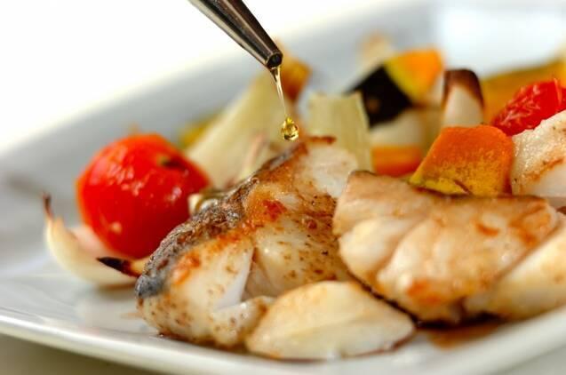 白身魚とトマトのオーブン焼きの作り方の手順4