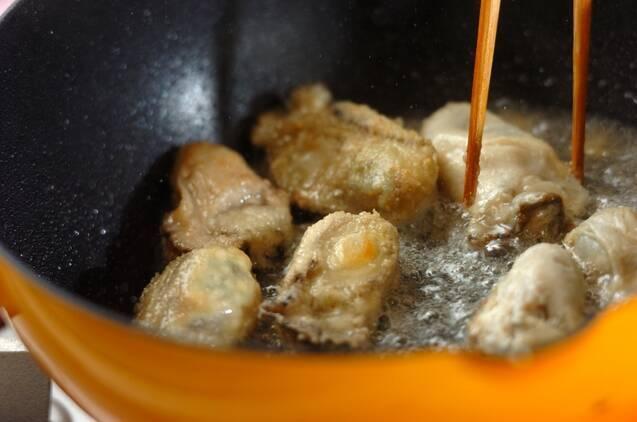 カブとカキのクリーム・シチューの作り方の手順3