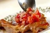 チキンのトマトソースの作り方3