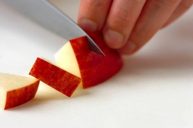 サツマイモとリンゴのデリ風サラダの作り方の手順2