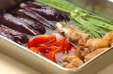 鶏肉と夏野菜の揚げびたしの作り方5