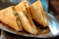 韓国風きな粉餅トースト