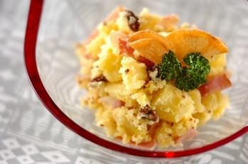 サツマイモのポテトサラダ