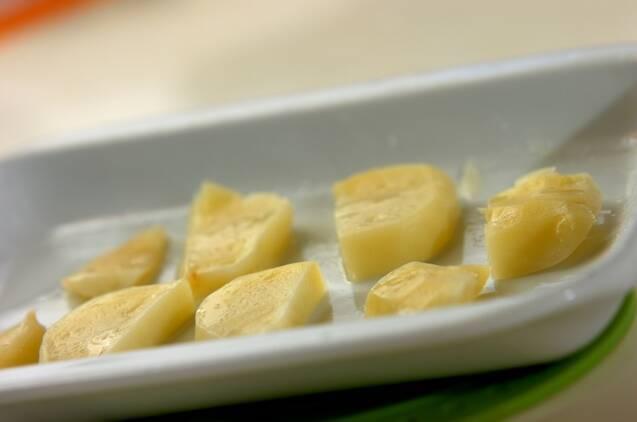 ジャガイモの磯辺焼きの作り方の手順2