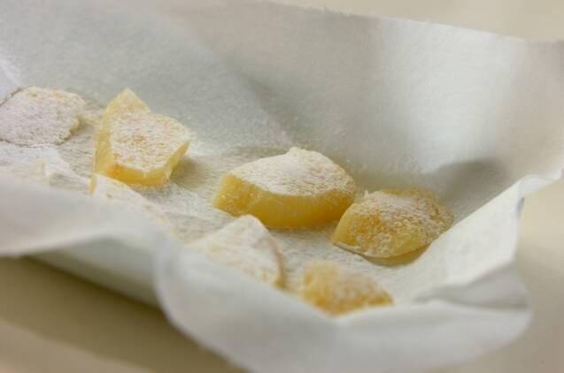 ジャガイモの磯辺焼きの作り方の手順3