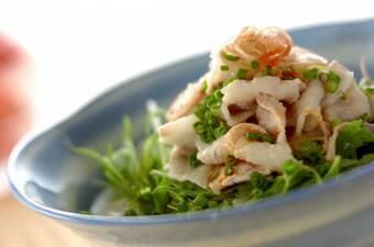 ピリ辛豆乳素麺