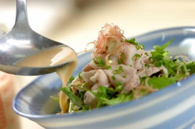 ピリ辛豆乳素麺の作り方の手順5