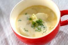 カブとキャベツのミルクスープ