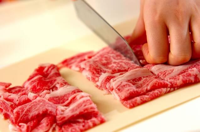 関東風すき焼きの作り方の手順1
