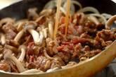 豚プルコギ丼の作り方3