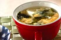 豆腐入り卵スープ