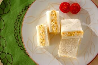 シンプル卵サンド