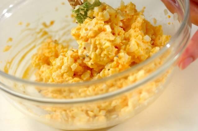 シンプル卵サンドの作り方の手順2