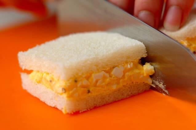 シンプル卵サンドの作り方の手順4