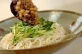 肉みそ素麺の献立の作り方3