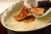 鮭とブロッコリーのクリームシチューの作り方4
