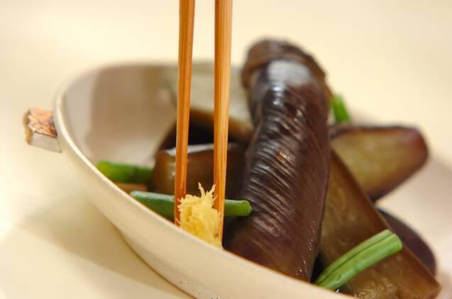 長ナスの含め煮の作り方の手順5