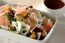 お豆のデリ風サラダ