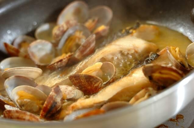 魚介のワイン蒸しの作り方の手順6