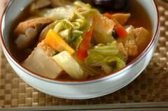 とろとろ白菜と厚揚げの中華風うま煮