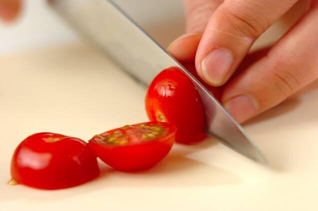 マンゴーモッツァレラの作り方の手順2