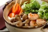 ゆで鶏スープで煮込みうどんの作り方5