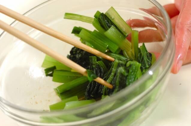 小松菜のゴマ和えの作り方の手順2