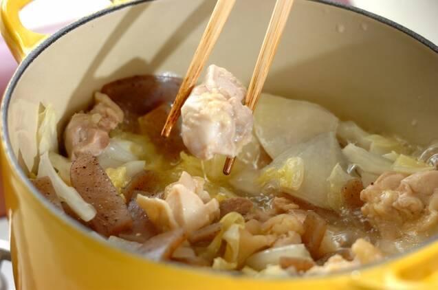 炒り大豆の具だくさん呉汁煮の作り方の手順6