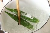 素麺・手づくりつゆの下準備1
