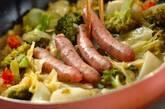 菜園風スパゲティーの作り方6