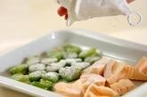ソラ豆とタケノコの天ぷらの作り方1