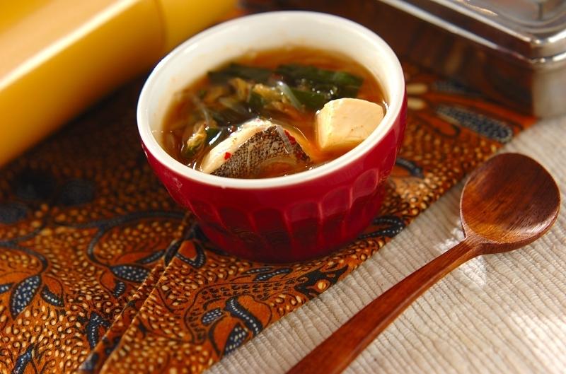 チゲ鍋風スープ