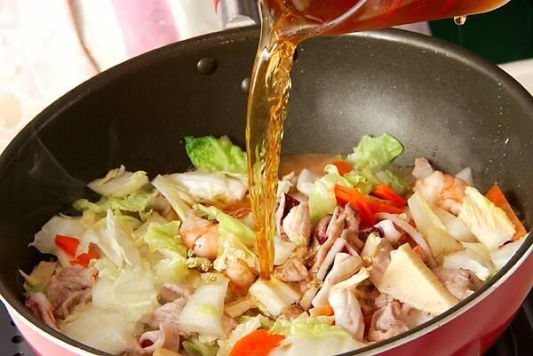 たっぷり中華丼の作り方の手順11