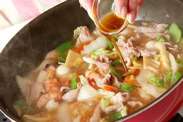 たっぷり中華丼の作り方の手順12