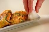 ツナとニラの卵焼きの作り方3