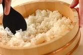 手まり寿司の下準備1