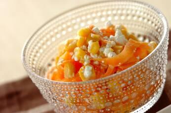 ササガキニンジンとチーズのサラダ