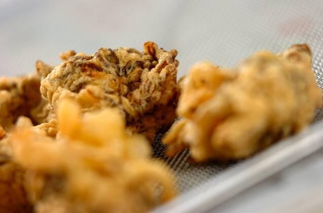 サクサク!もずくのシンプル天ぷらの作り方の手順4
