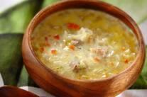 鶏肉のクリームスープ