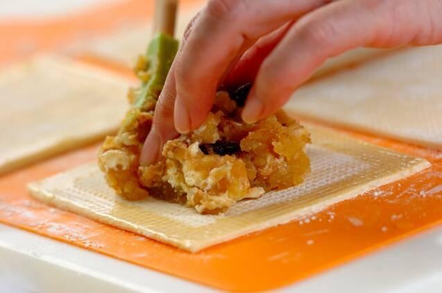 栗きんとんパイの作り方の手順4