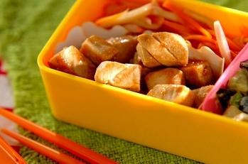 マグロの中華風ステーキ