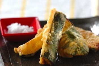 ズッキーニの天ぷら
