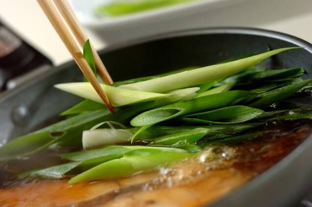 カラスガレイの煮付けの作り方の手順5