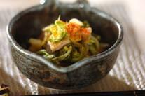 白菜と油揚げのくったり煮