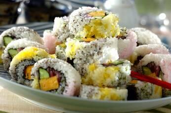 カラフル太巻き寿司