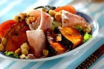 焼きカボチャのサラダ