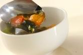 トマトとワカメのスープの作り方2