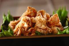 照り焼き味鶏もも肉唐揚げ