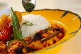 夏野菜キーマカレーの作り方5